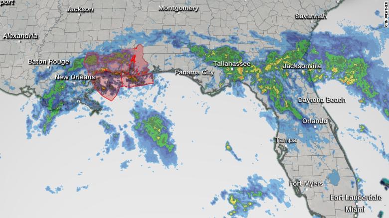 Map Of Louisiana Flooding 2020 Tropical Depression Cristobal threatens Louisiana with flooding