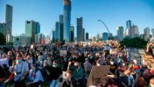 Sâmbăta activiștilor din Brisbane.