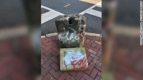 A Virginia city finally removed its 800-pound slave auction block after years of deliberation