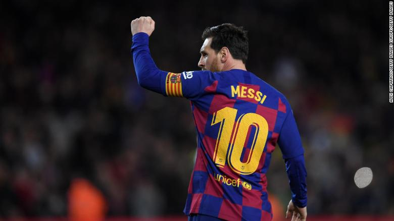 Messi Milestone In First Game Back For Barcelona Cnn