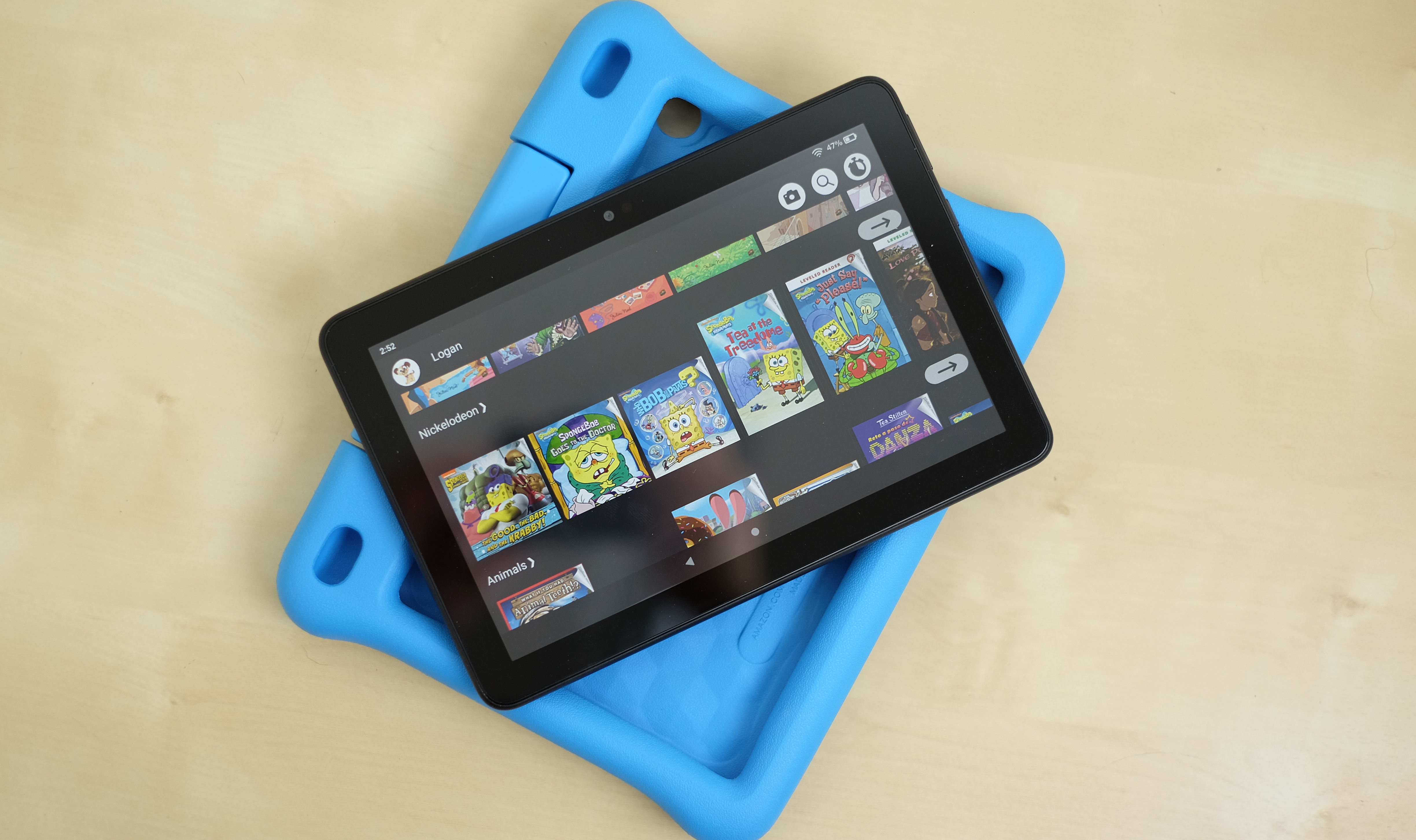 Amazon's Fire HD 40 Kids Edition removes the stress of giving your ...