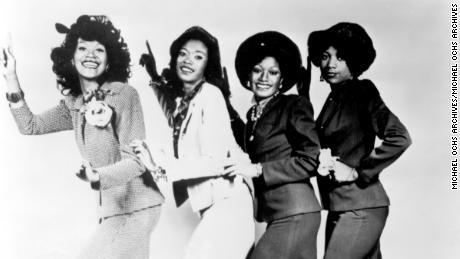 The Pointer Sisters, fotografiado alrededor de 1970. (Foto de Michael Ochs Archives / Getty Images)