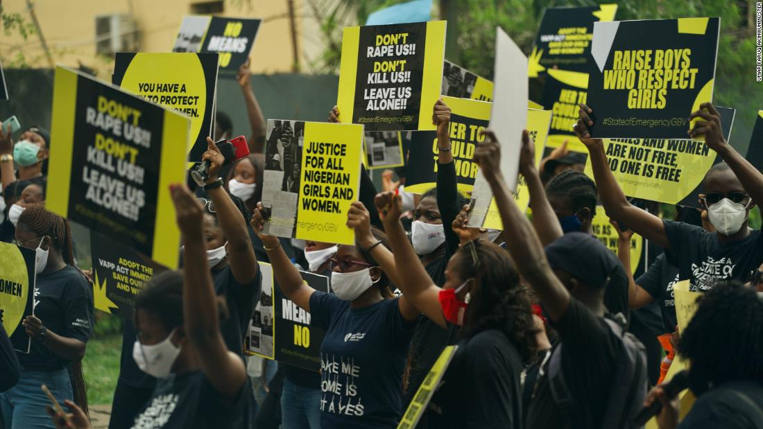 Nigerian women take to the streets in protests against rape and ...