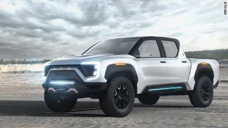 The Nikola Badger aims to compete with electric trucks from Tesla and others.