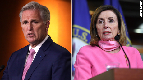 & # 39;  What you're doing is unprecedented & # 39;: McCarthy-Pelosi conflict escalates