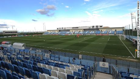 Real Madrid will play their remaining home games at the 6,000-seater Estadio Alfredo Di Stefano, where their B-team would usually play.