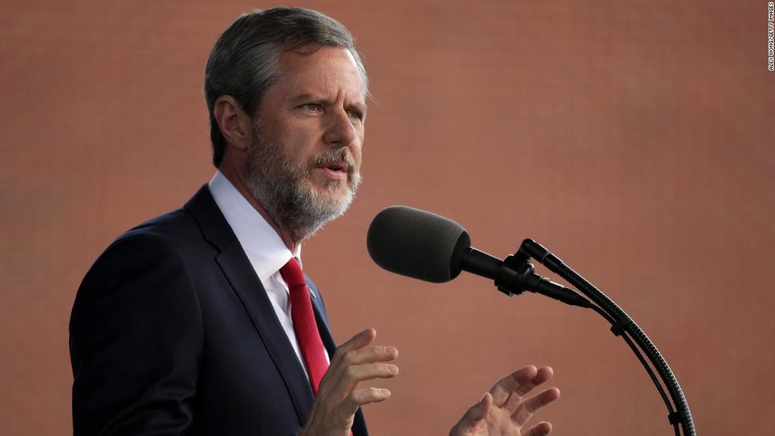 Jerry Falwell Jr. will take leave of absence from Liberty University
