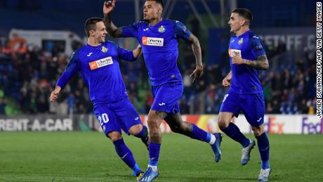 Getafe CF are pushing to qualify for the Champions League for the first time in the club's history.