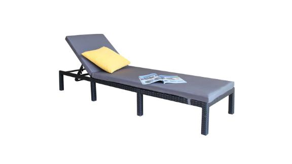 Anthonyville Outdoor Adjustable Reclining Chaise Lounge