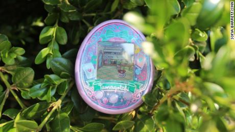 Tamagotchi, the popular toy from the 90s, is back once again with a new product called Tamagotchi On Wonder Garden. Analysts explain why the brand has found on and off success in the US while it stays hot in Japan. Tamagotchi tells CNN Business that in the US, they need to make the toy packaging bigger to signal to the American customer that it's worth $60, while in Japan, the toys continue to come in tiny pocket size keychains because it's just so ubiquitous.
