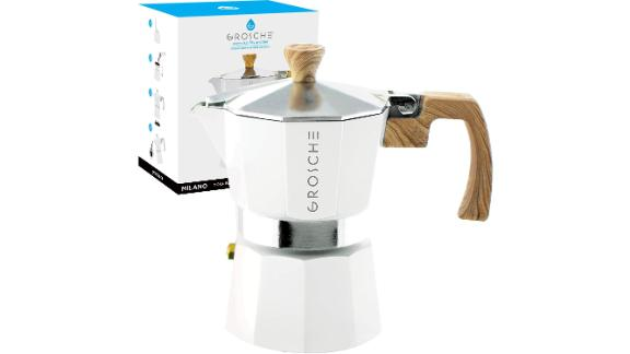 Milano Stovetop 3-Cup Espresso Maker by Grosche
