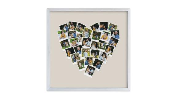 Heart Snapshot Mix Hues Photo Art
