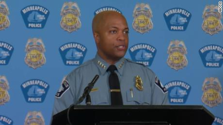 Minneapolis Police chief says officers' lack of experience is no excuse in George Floyd killing