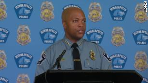 Minneapolis police chief says George Floyd's family will inspire his reform efforts