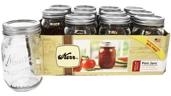 Kerr 16-Ounce Canning Jars