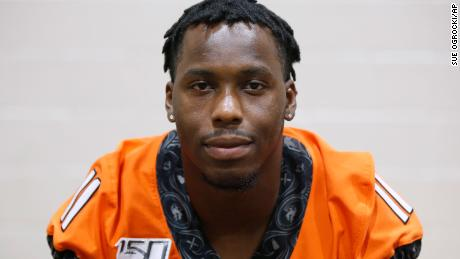 Oklahoma State linebacker Amen Ogbongbemiga announced that he tested positive for COVID-19.