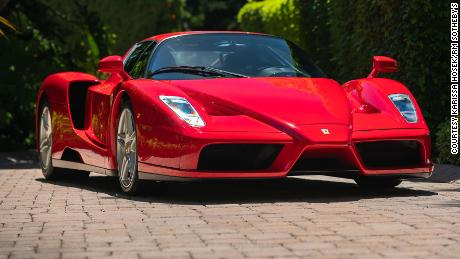 RM Sotheby's sold this 2003 Ferrari Ezno in an online auction for $2.6 million.
