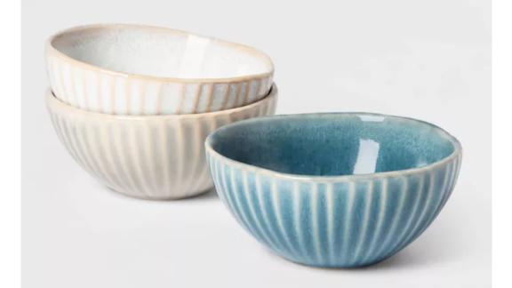 Cravings by Chrissy Teigen 3pk Ceramic Condiment Bowls