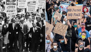 Civil rights protesters from the 1950s and 1960s reflect on their struggle -- and the present movement