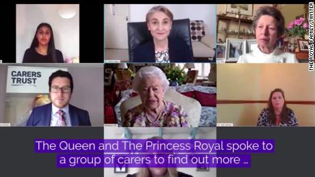 "The Queen told the group she was ""very impressed"" by their achievements."