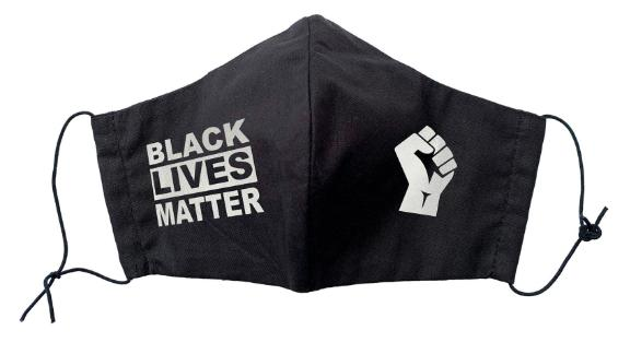 Cotton Face Masks Black Lives Matter with Filter Pocket