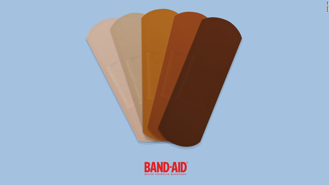 Band-Aid will make black and brown skin-toned bandages - CNN