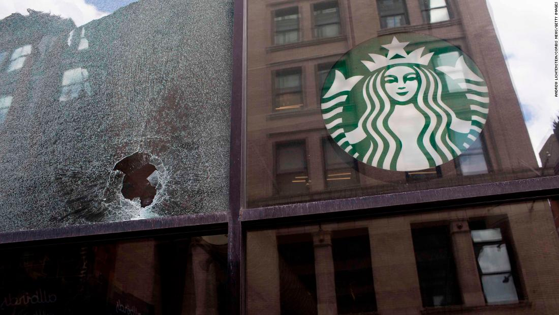 Starbucks reverses its stance and will now let baristas wear 'Black Lives Matter' apparel