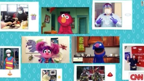 Best moments from CNN and Sesame Street's second coronavirus town hall for kids and parents