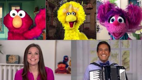 Sesame Street and CNN song on staying safe during Covid-19