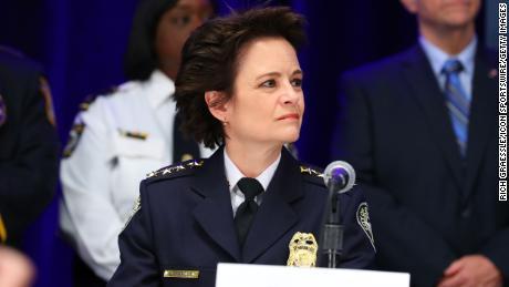 Former Atlanta Police Chief Erika Shields.