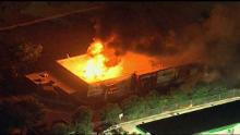 The Wendy's where an unarmed black man was shot and killed Friday was set ablaze the next day