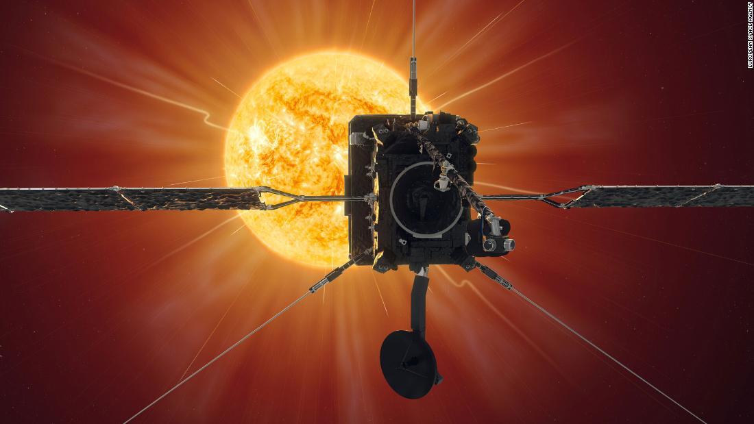Solar Orbiter makes first close pass at sun