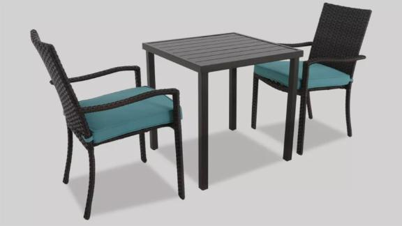 Halsted 3pc Patio Bistro Set - Threshold
