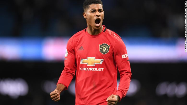 Marcus Rashford Manchester United Star Has Shown The Uk A New Kind Of Leadership Cnn