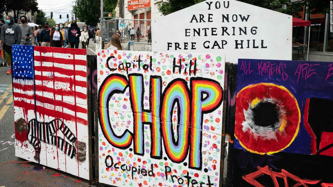 Seattle Protesters Have Occupied Part Of Capitol Hill Since Last Week Cnn