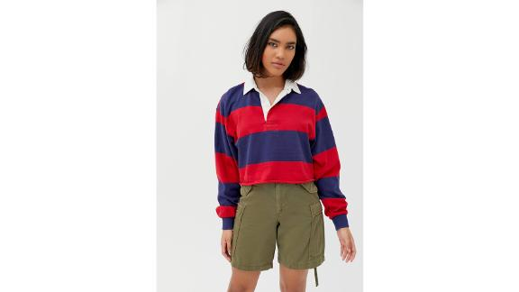 UO Jefferson Cropped Rugby Shirt