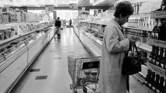 Supermarkets expanded their presence during the second half of the twentieth century as the suburbs boomed.