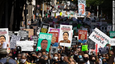Black Lives Matter protests across the US and world
