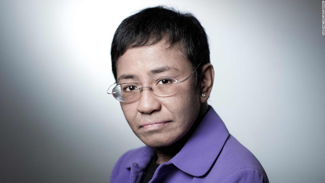 CEO of Philippine news website Rappler, Maria Ressa, poses during a photo session on September 11, 2018 in Paris. (Photo by JOEL SAGET / AFP)        (Photo credit should read JOEL SAGET/AFP via Getty Images)