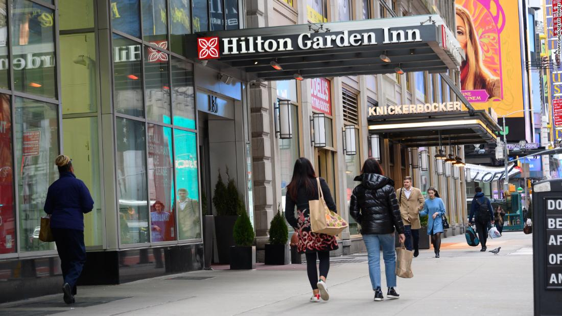Hilton lays off 22% of its corporate staff