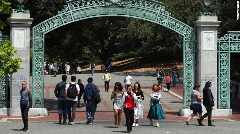 The University of California Berkeley campus.