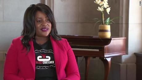 Tiffany Crutcher became an activist against police brutality after her twin brother Terence Crutcher was killed by a Tulsa Police officer in 2016.