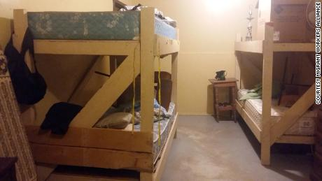 Bunkhouses for migrant workers in Ontario. Courtesy of the Migrant Workers Alliance for Change.