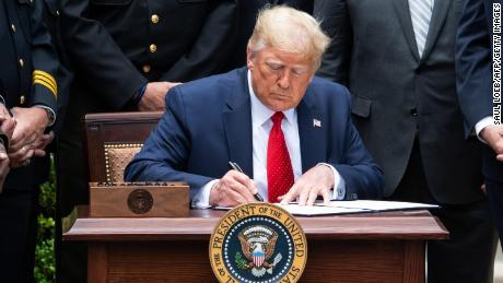 READ: President Trump's executive order on police reform
