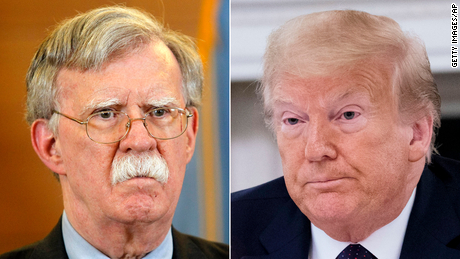Bolton accuses Trump of lying ahead of book publication