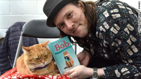 James Bowen wrote several books based on his experiences with Bob.