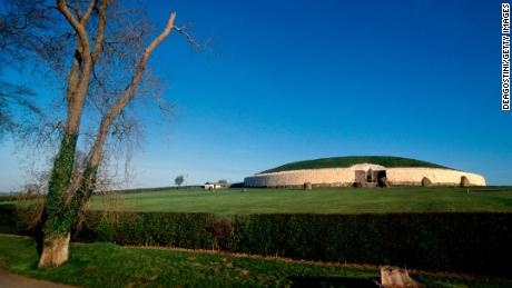 Newgrange passage tomb is in County Meath, in the east of Ireland.