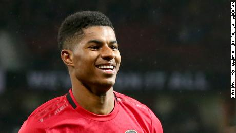 United star Rashford forms taskforce to fight child food poverty