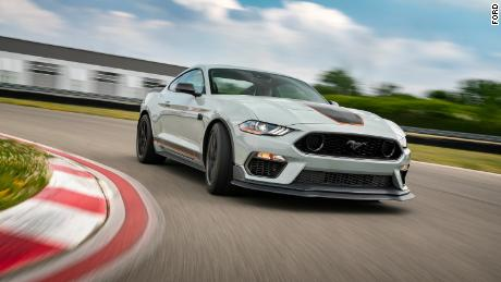 The new Mustang Mach 1 will offer suspension tuned for track performance.
