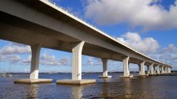 The Roosevelt Bridge in Stuart, Florida, is 'at risk of an imminent collapse,' the Coast Guard warns.